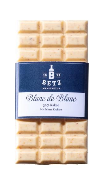Schokoladentafel Blanc de Blanc