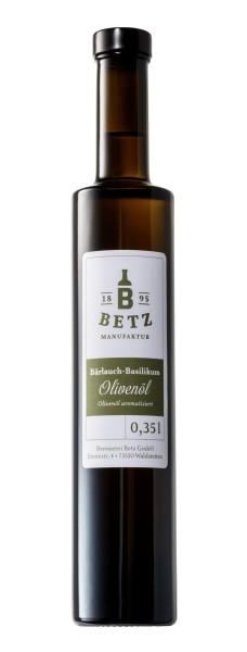 Bärlauch-Basilikum-Öl