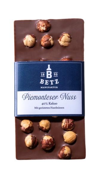 Schokoladentafel Piemonteser- Nuss